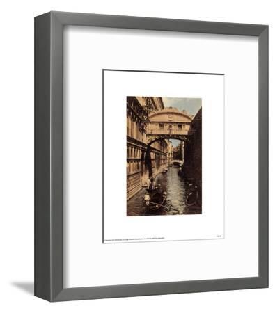 Venezia - Ponte Dei Sospiri--Framed Art Print