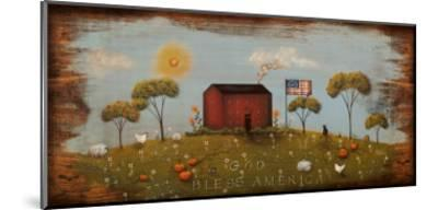The Red Schoolhouse-Jessica Fries-Mounted Art Print