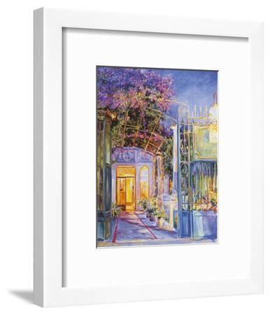 Reservation's at Eight-Linda Lee-Framed Art Print