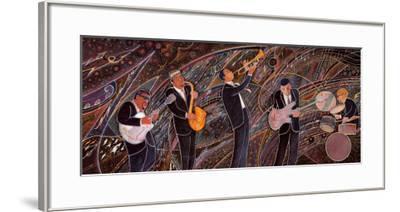 Jam Session-Marcus Uzilevsky-Framed Art Print