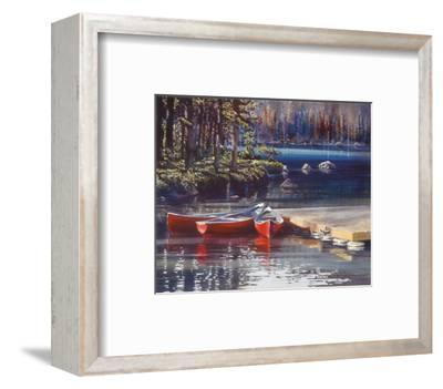 Three's Company-Kiff Holland-Framed Art Print