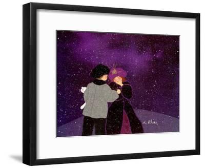 Frissons-Diane Ethier-Framed Art Print