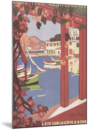 Cote d'Azur--Mounted Art Print