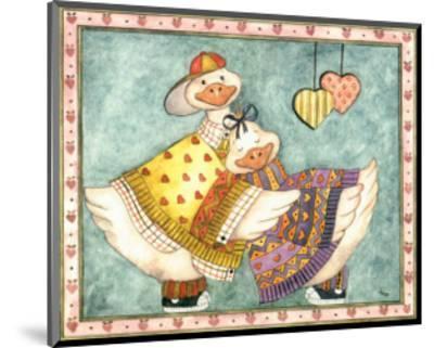 Geese Family II-Isabelle De Bercy-Mounted Art Print