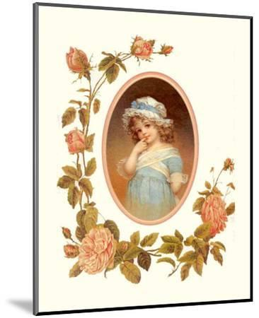 Childhood Flowers I--Mounted Art Print