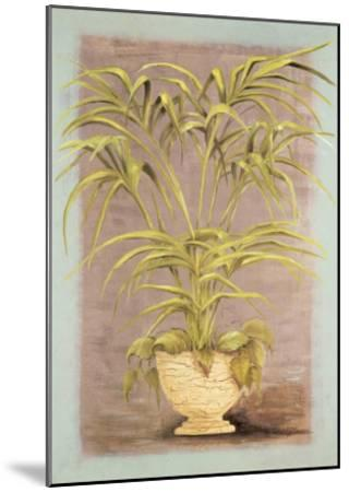 Jarrones Plantas II-L^ Romero-Mounted Art Print