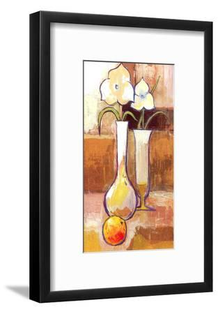 Fruit and Flower Composition-Ranz-Framed Art Print