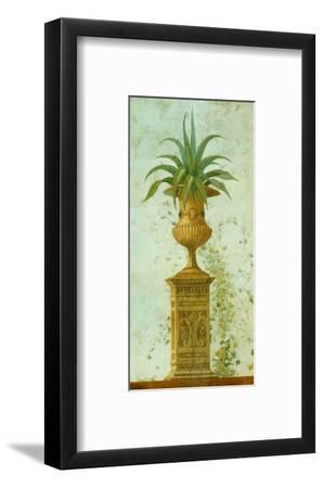 Pedastale con Plantas-Javier Fuentes-Framed Art Print