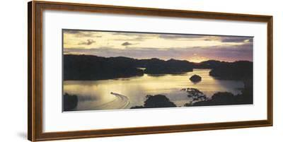 Dawn in Polinesia--Framed Art Print