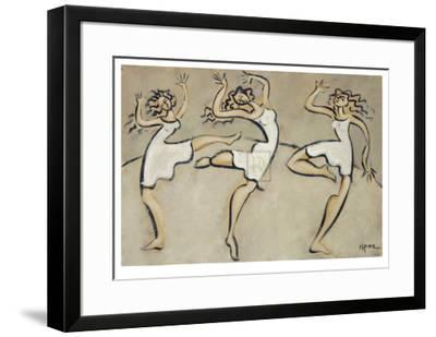 Three Graces-Marsha Hammel-Framed Collectable Print