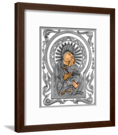 Holy Subject IV--Framed Art Print