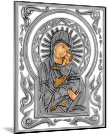 Holy Subject IV--Mounted Art Print