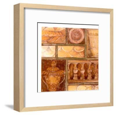 Collecting Antiques I-Elvira Ricci-Framed Art Print
