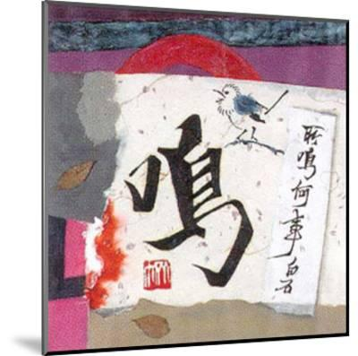 Oriental Symbols I-Trang Lee-Mounted Art Print