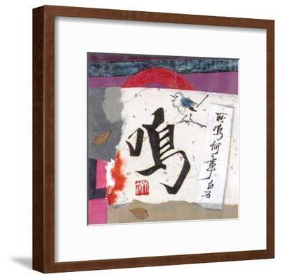 Oriental Symbols I-Trang Lee-Framed Art Print