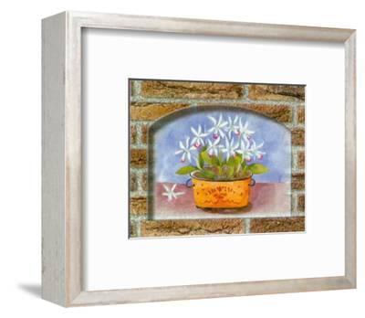 Rustic Bouquets II-C. Potter-Framed Art Print