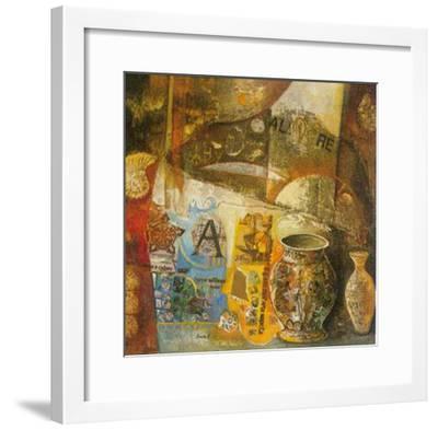 Reminiscences III-von Bonetto-Framed Art Print