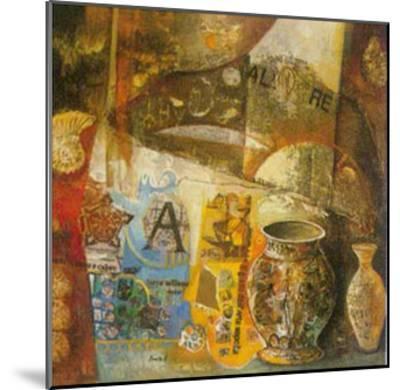Reminiscences III-von Bonetto-Mounted Art Print