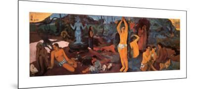 Life's Questions-Paul Gauguin-Mounted Art Print