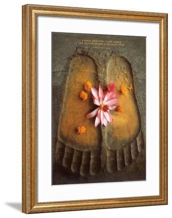 Thich Nath Hanh, I Have Arrived--Framed Art Print