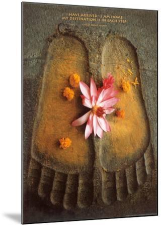 Thich Nath Hanh, I Have Arrived--Mounted Art Print