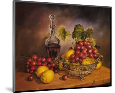 Grapes Display-J^R^ Insaurralde-Mounted Art Print