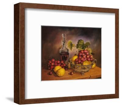 Grapes Display-J^R^ Insaurralde-Framed Art Print