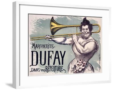 Marguerite Dufay-Louis Anquetin-Framed Giclee Print