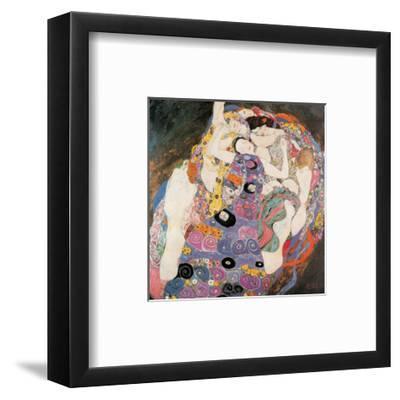 The Virgin-Gustav Klimt-Framed Art Print