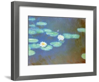 Water Lilies, c.1898-Claude Monet-Framed Art Print