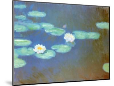 Water Lilies, c.1898-Claude Monet-Mounted Art Print