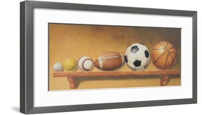 Keep Your Eye on the Ball-Lisa Danielle-Framed Art Print