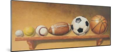 Keep Your Eye on the Ball-Lisa Danielle-Mounted Art Print