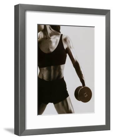 Working It-Mitchel Gray-Framed Art Print