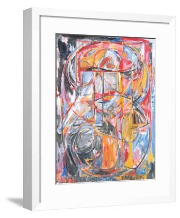 0 Through 9, 1961-Jasper Johns-Framed Art Print
