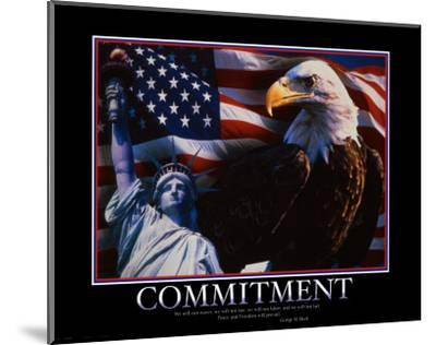 Commitment--Mounted Art Print