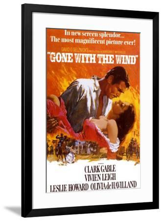 Gone with the Wind--Framed Art Print