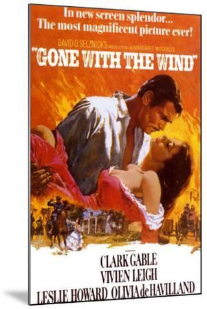 Gone with the Wind--Mounted Art Print