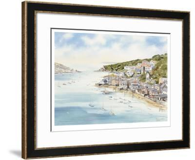 Fowey From Boddinick- John Chisnall-Framed Limited Edition