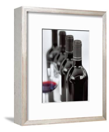 Burgundy-Teo Tarras-Framed Art Print