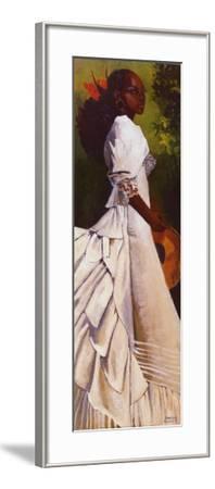 Woman in White I-Boscoe Holder-Framed Art Print