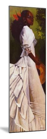 Woman in White I-Boscoe Holder-Mounted Art Print