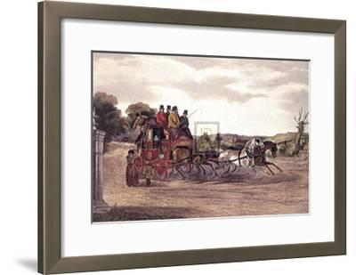 The Early Delivery-William J. Shayer Jnr-Framed Art Print