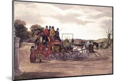 The Early Delivery-William J. Shayer Jnr-Mounted Art Print