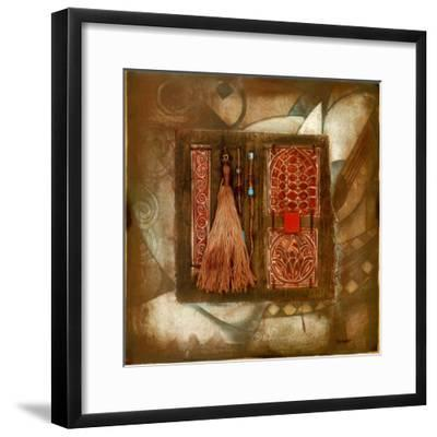 Copper Ages VII-Marian Kessler-Framed Art Print