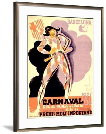 Carnival, 1936-Tubau-Framed Giclee Print