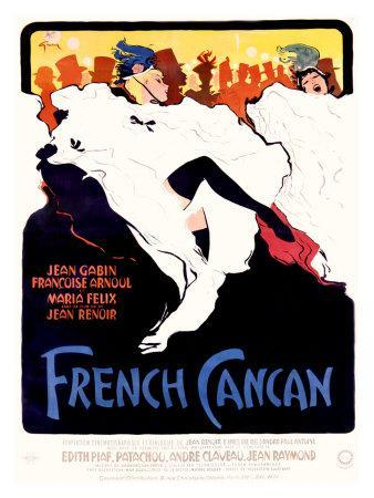 French Cancan-Alicia Grau-Mounted Giclee Print