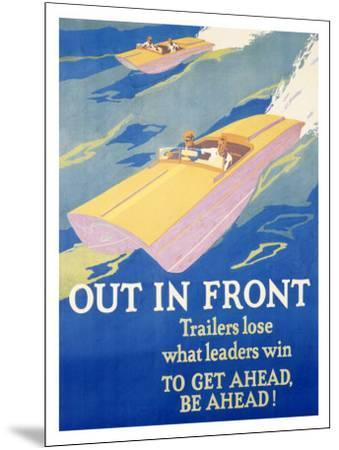 Out in Front-Frank Mather Beatty-Mounted Giclee Print