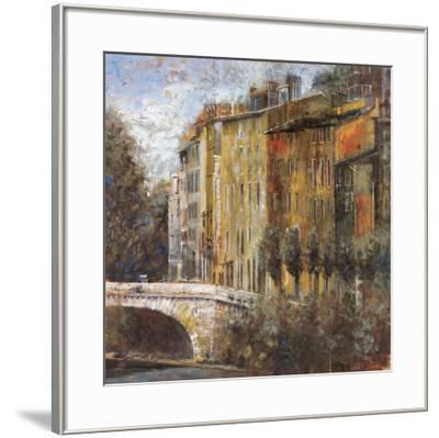 Rue de la Parc-Michael Longo-Framed Art Print