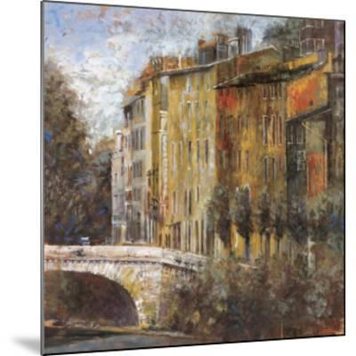 Rue de la Parc-Michael Longo-Mounted Art Print